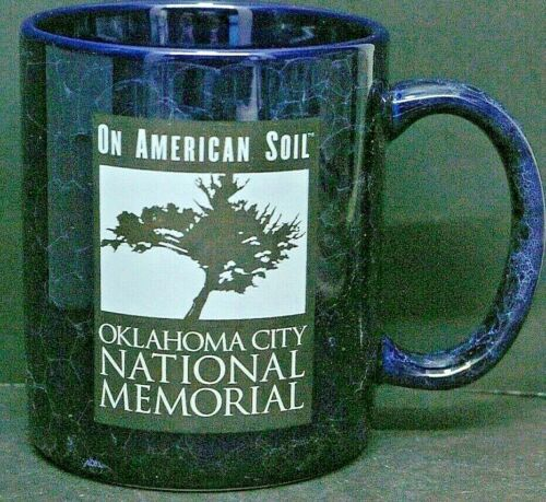 On American Soil Oklahoma City National Memorial Coffee Cup Mug