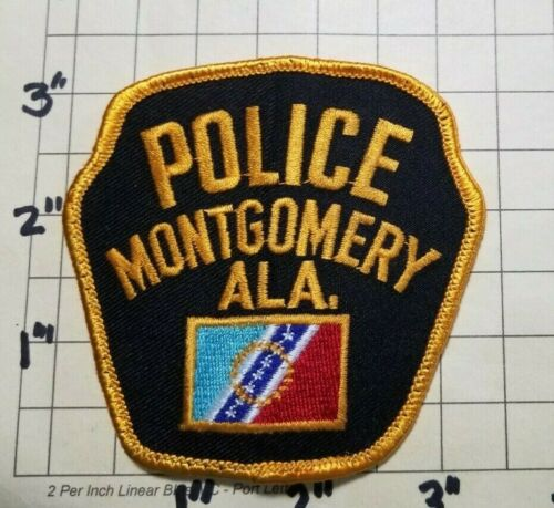 Montgomery (AL) Police Department Patch