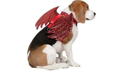 New ! Dog Costume Devil Harness Dog Halloween Costumes - Red   XS  S M L XL