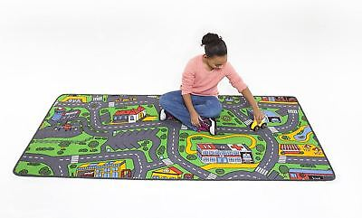 Best Kids Play Rug Car Road Rug Hot Wheels Matchbox City Life Car Rug For