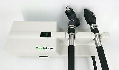 Welch Allyn 767 Wall Transformer Ophthalmoscope 11720 Macroview Otoscope 23810