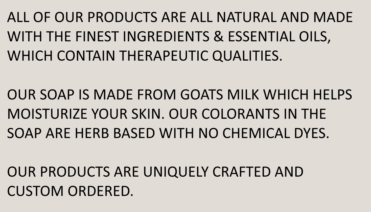 Renewed Natural Products
