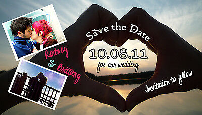 Save The Date Wedding Magnets Custom With Envelopes UNIQUE Save The Dates - Custom Save The Dates