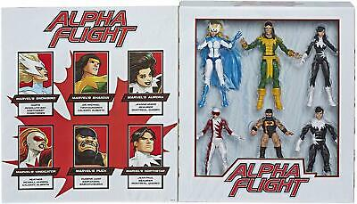 Hasbro Marvel Legends Series Toys 6 Pack Alpha Flight 6 Action Figures Kids Gift
