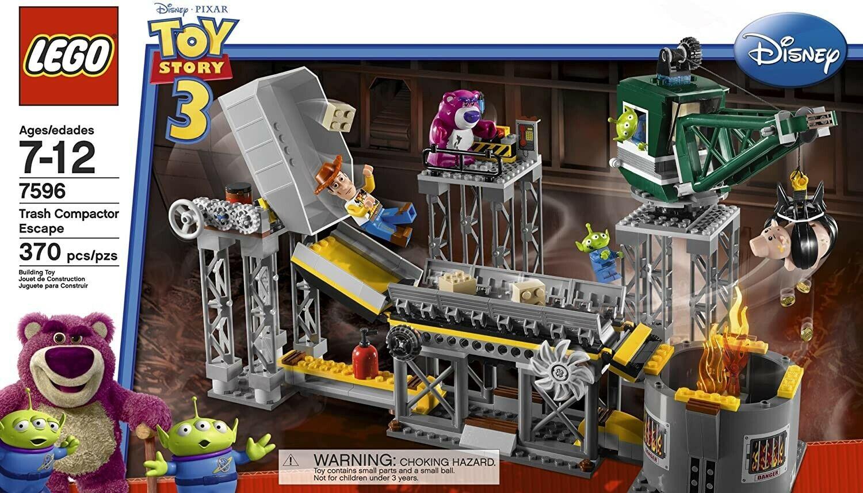 NEW Lego 7596 Disney Toy Story Trash Compactor Escape FACTOR