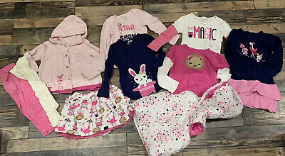 Show Girl Outfits (Gymboree Girls Star of the Show Shirt Sweater Skirt Dress Leggings outfit lot)