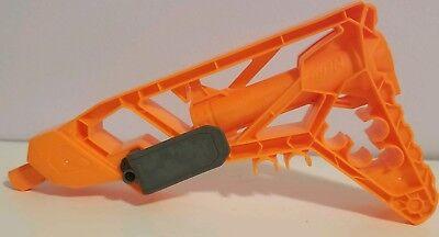 Nerf N Strike Stock Rare Gun Mount Module Orange Holds Darts