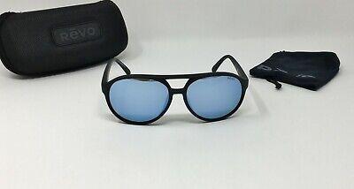 REVO® MARX Men's RE 1059 01 BL Aviator Sunglasses POLARIZED BLUE WATER Lens (Revo Aviators)