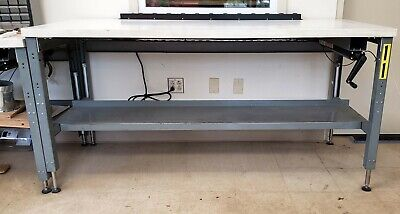 Complete Suspa Movotec Lift System Mqs-00003 Hydraulic Workbench Made In Usa
