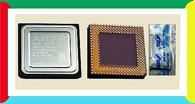 K6-2  (Plus) 500 MHz CPU. K6-3 NEW 500/128/100 Socket 7-Super 7 ACTUAL PICTURES