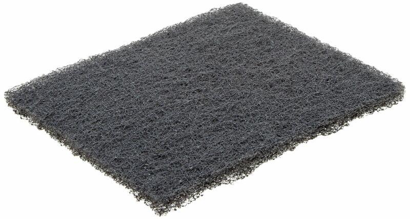 "Norton Synthetic Steel Wool Pad, 5-1/2""x 4-3/8"", Grit Type 000, 2 pk"