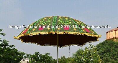 Hippie Exterior Parasol Patio Sombrillas Boda Grande Paraguas Decoración 183cm