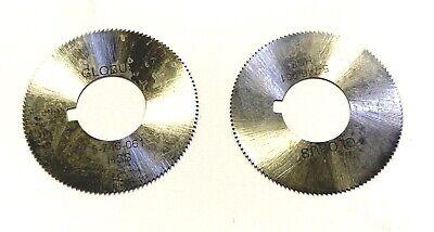 ".040/"" Thick x 4/"" Diameter x 1/"" Arbor Hole 220 Teeth HSS Jewelers Slotting Saw"