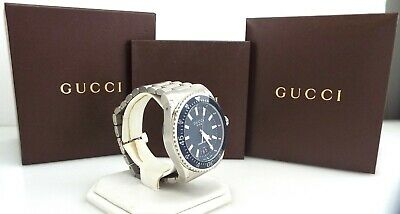 Gucci - Dive YA136203 - Blue Dial - Stainless Steel - Men's Watch ~#3118
