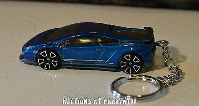 Lamborghini Gallardo LP 570-4 Superleggera 1/64 Custom Llavero Porte Cles