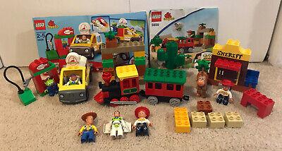Lego Duplo Disney Toy Story - Great Train Chase (5659) Jessie (5657) Buzz (5658)