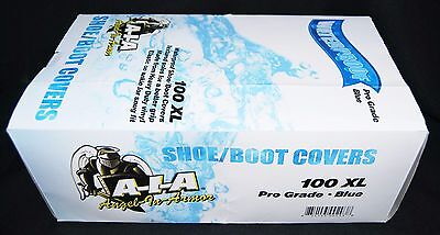 100 Waterproof Premium Shoe Covers Boot Covers Size 2xl Disposable Plumbers