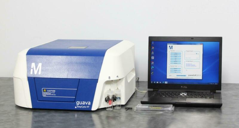 Millipore Guava EasyCyte 5HT Benchtop Flow Cytometer w/ Laptop & GuavaSoft