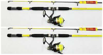 POLE 10/' SET OF 3 RODS SDF-10 REEL STARDUST CRAPPIE FLY ROD CRAPPIE ROD