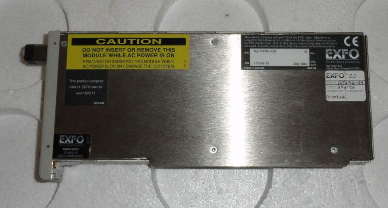 EXFO IQ-7200 IQ-7212B Laser Light Source MM Multimode OTDR