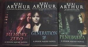 Keri Arthur Fiction Series Kingston Logan Area Preview