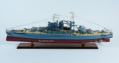 USS Pennsylvania Pennsylvania-class Battleship Wooden Ship Model Scale 1:200