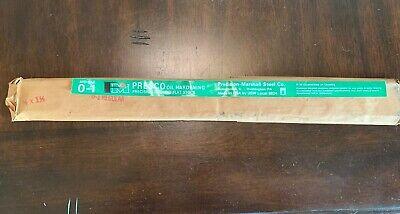 O1 Flat Ground Tool Steel 316 X 1 12 X 18 Knife Stock Usa Made
