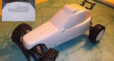 Karosserie aus 2mm abs für FG Marder ,Carson in Farbe schwarz oder weiß