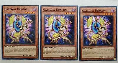 3x Gateway Dragon Effect Monster Yugioh Cards The Best And Great Online (Best Effect Yugioh Cards)