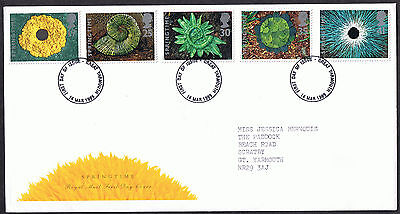 The Four Seasons 1995 First Day Cover - SG1853 to SG1857 Great Yarmouth
