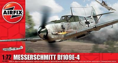Airfix Messerschmitt Bf109E-4 1:72 Scale Plastic Model Plane A01008