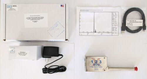BRAND NEW Amptek X-123 SDD X-Ray Spectrometer Silicon Drift Detector EDS XRF