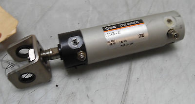 New SMC Pneumatic Cylinder, CGDA25-40, 1-5/8