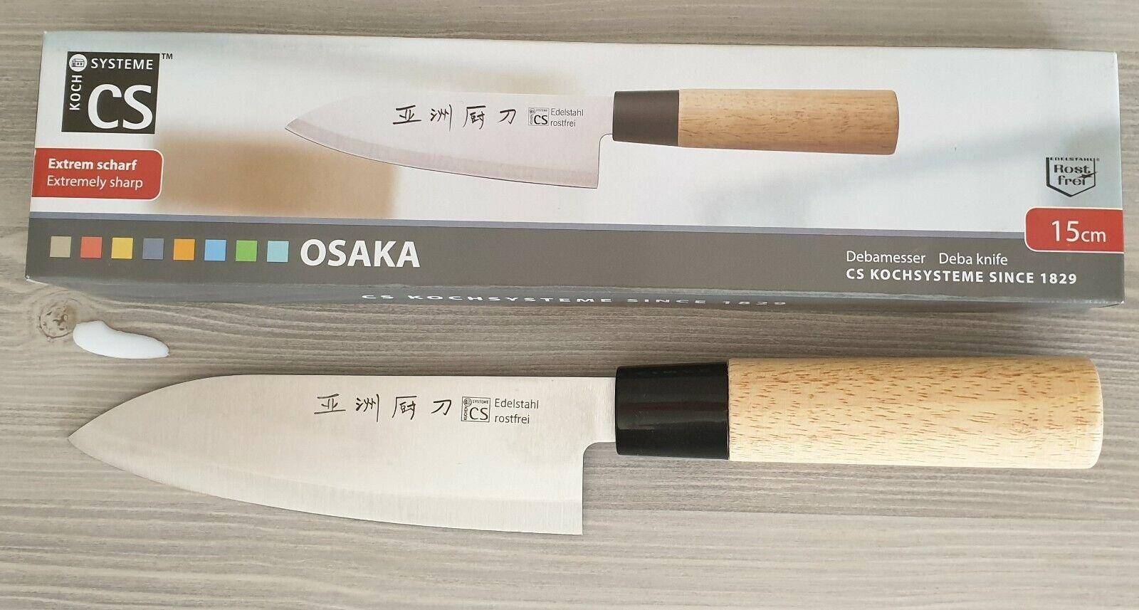 Osaka Debamesser - Kochmesser -  Klingenlänge 15 cm