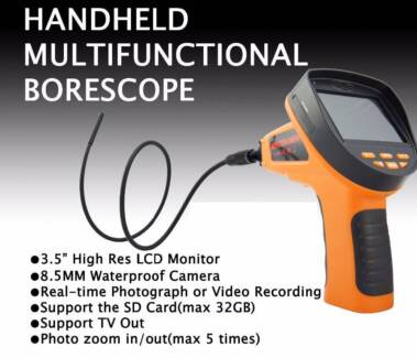 8.2mm Inspection Camera Handheld Digital Videoscope Recording Morley Bayswater Area Preview
