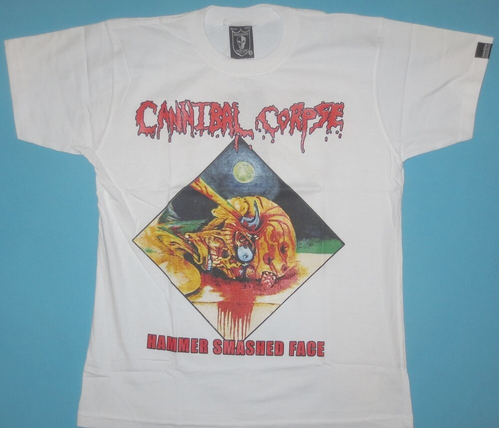 Cannibal Corpse - Hammer Smashed Face T-shirt  White