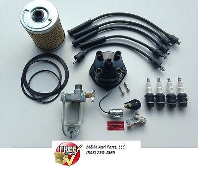 Tune Up Kit Massey Ferguson Mf 35 50 65 135 150 165 175 180 202 204 Tractor