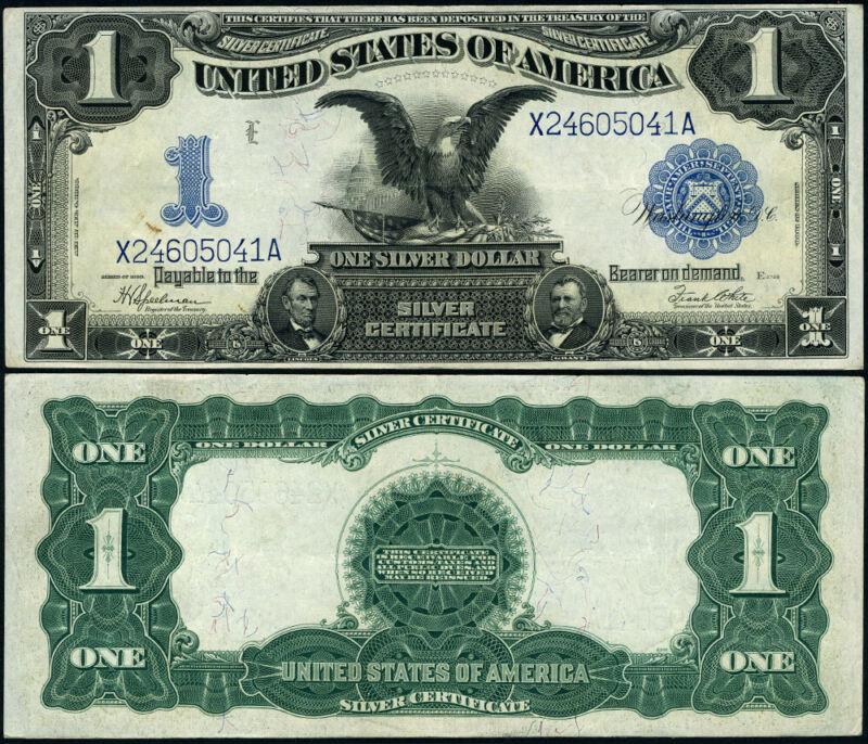 FR. 236 $1 1899 Silver Certificate AU