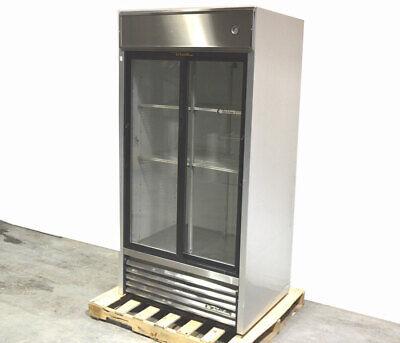 True Tsd-33g 39.5w Sliding-glass Door Reach-in Refrigerator Cooler 12hp 115vac