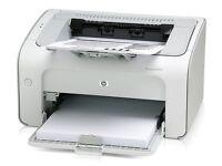 HP LaserJet Network Printer Monochrome P1005