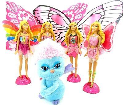 Satz Barbie Fairytopia aus dem XXL Ei von Ferrero mit allen BPZ (Gigante Maxi)
