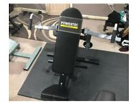 Powertec fly / rear delt bench