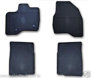 oem new ford explorer allweather vinyl floor mats rubber catch