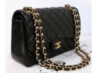 Quilted chanel style handbag