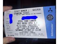 Eric Prydz Epic 5.0 Steel Yard London Cream - 1 Ticket