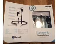 Wireless Bluetooth earbuds headphones
