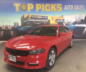 2016 Dodge Charger SXT AWD, SUNROOF, 19 WHEELS, V6 AND MORE!!