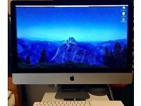"Apple iMac 27"" 5k, late 2015, 3.2GHz, 8GB, 1TB hdd, box, magic keyboard, magic trackpad"