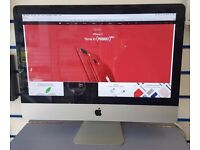"APPLE iMAC 21.5"" INTEL i5 4GB 1TB AMD RADEON WITH RECEIPT"