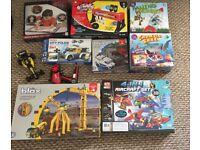 Boys 5+ toys 9x piece game bundle £30